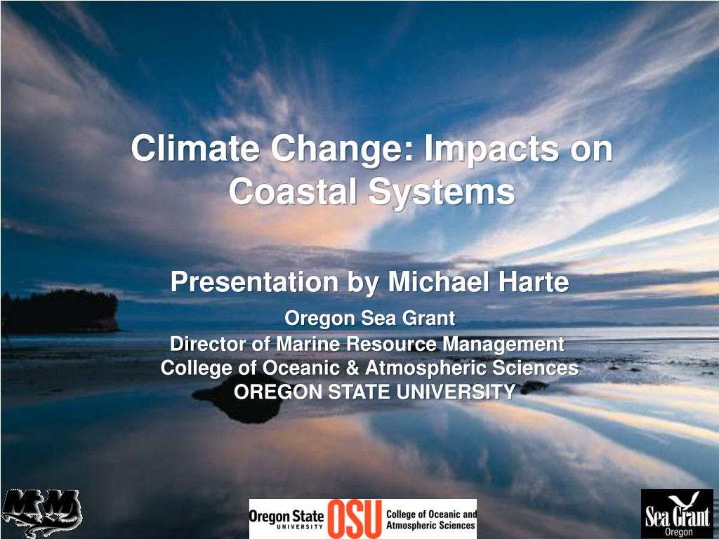 climate change impacts on coastal systems l.