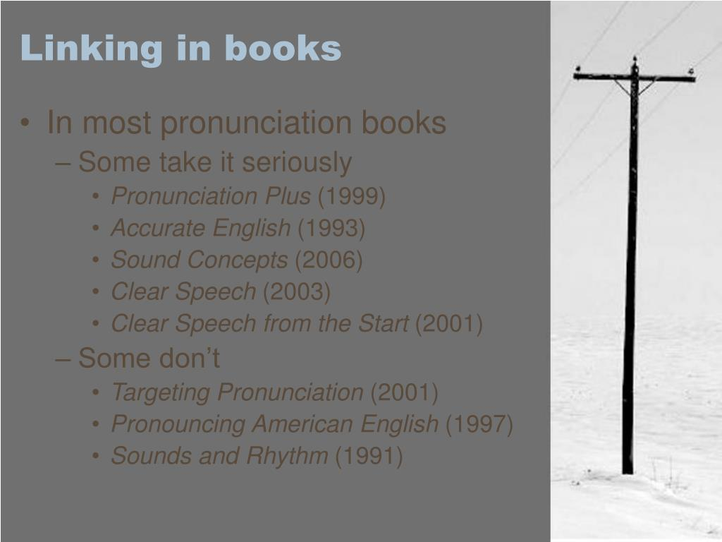 Linking in books