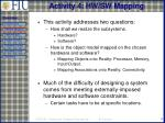 activity 4 hw sw mapping
