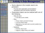 activity 5 data management