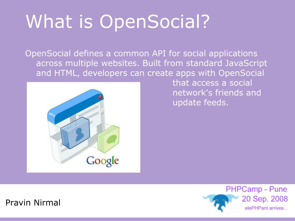What is OpenSocial?