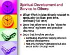 spiritual development and service to others12