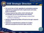 sse strategic direction