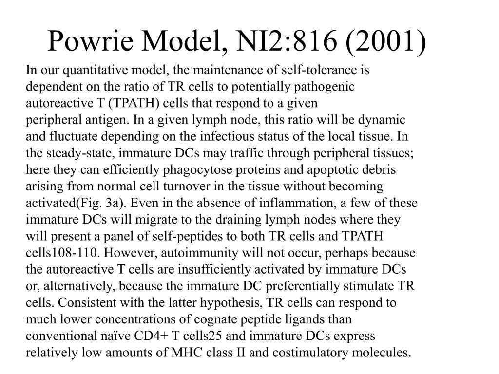 Powrie Model, NI2:816 (2001)
