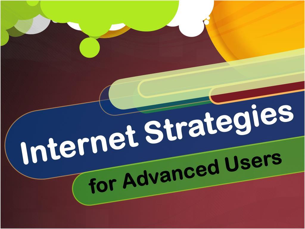 internet strategies l.