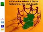 a vision for ireland a social network for the irish people