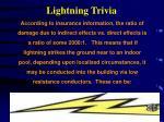 lightning trivia9