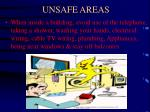 unsafe areas19