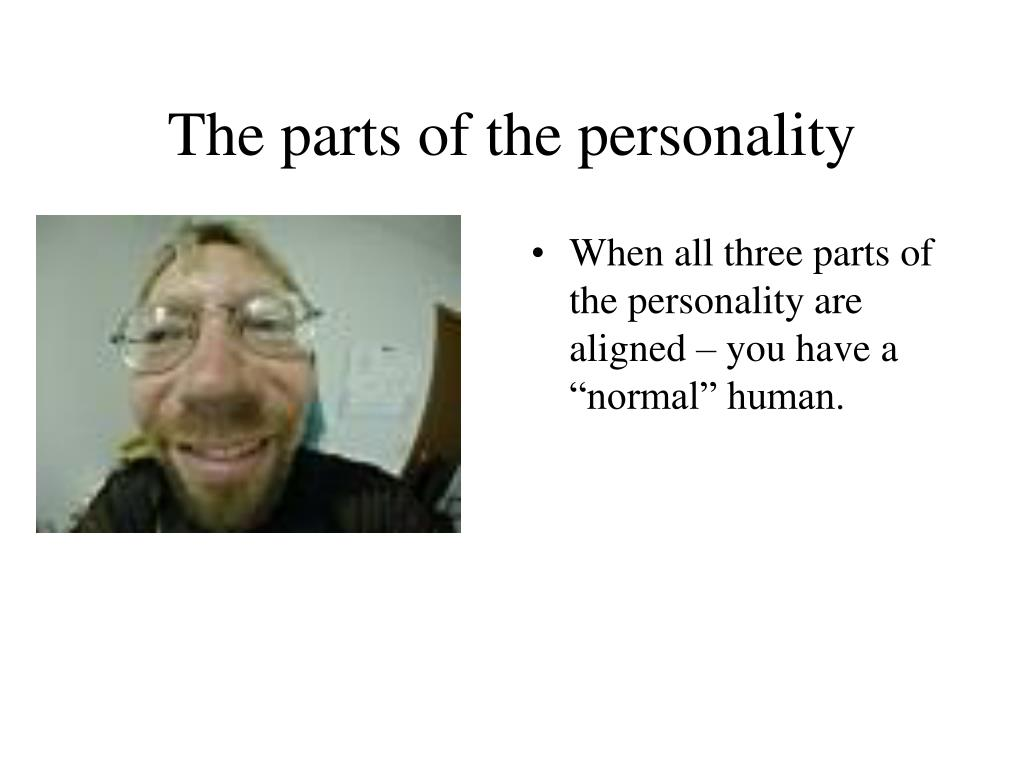 The parts of the personality