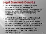 legal standard cont d14