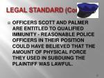 legal standard cont d23