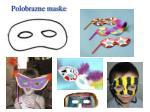 polobrazne maske