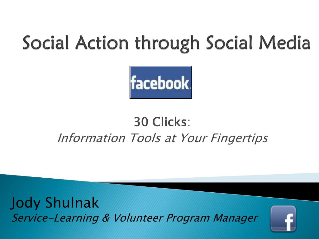 social action through social media l.