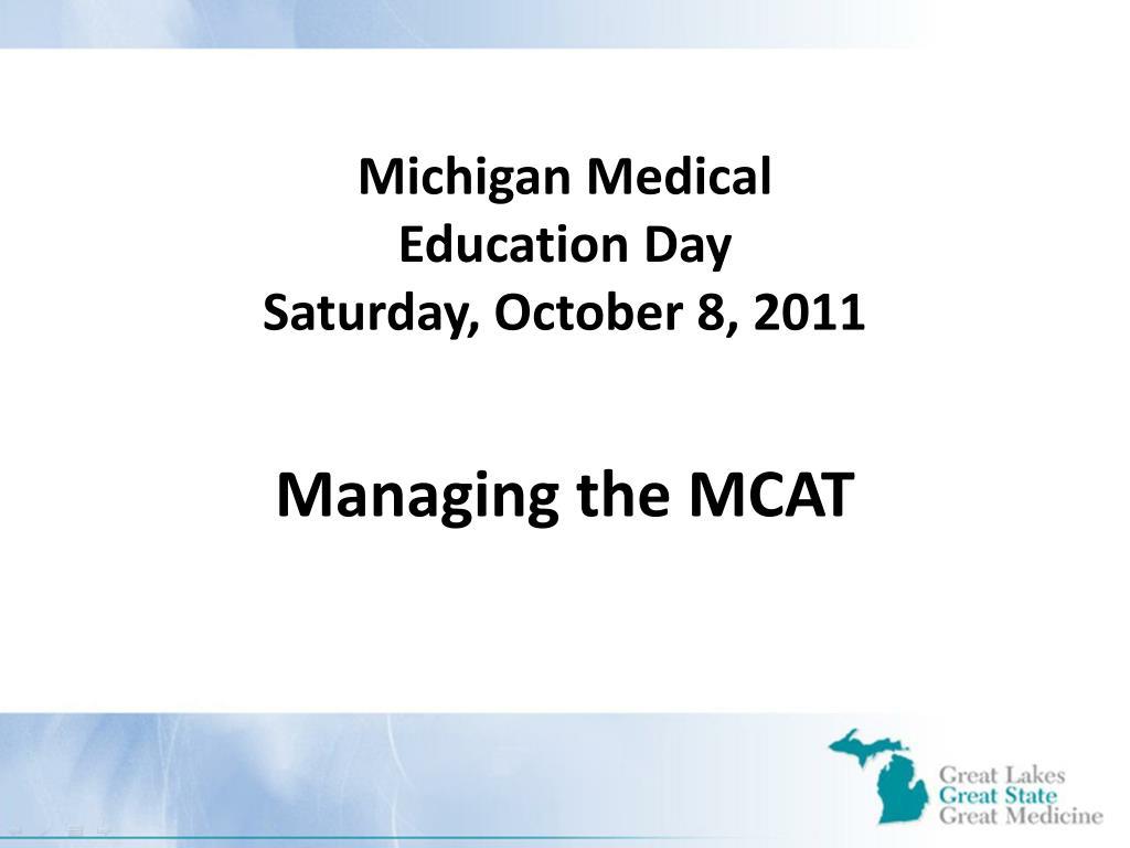 michigan medical education day saturday october 8 2011 l.