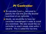 pi controller12