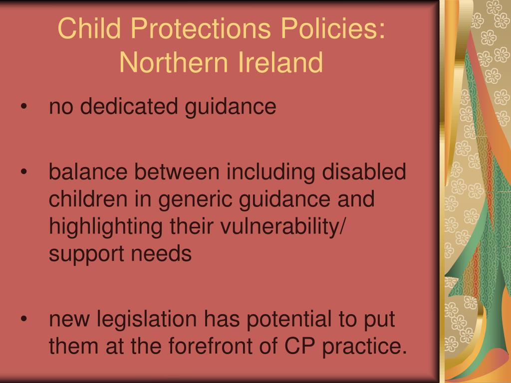 Child Protections Policies: