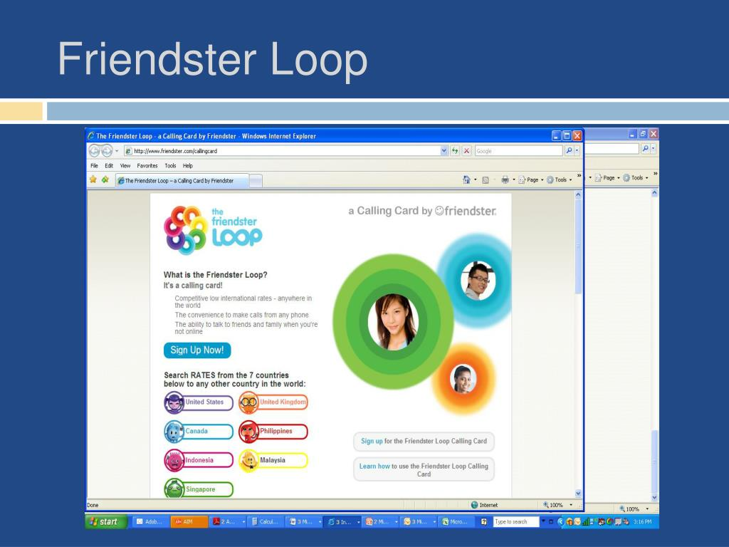 Friendster Loop