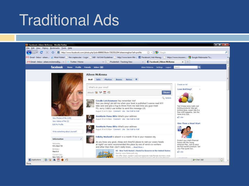 Traditional Ads