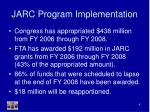 jarc program implementation