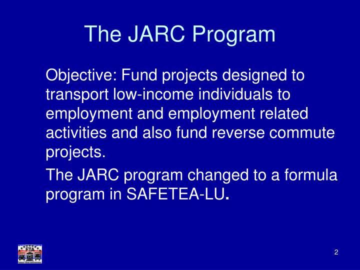 The jarc program