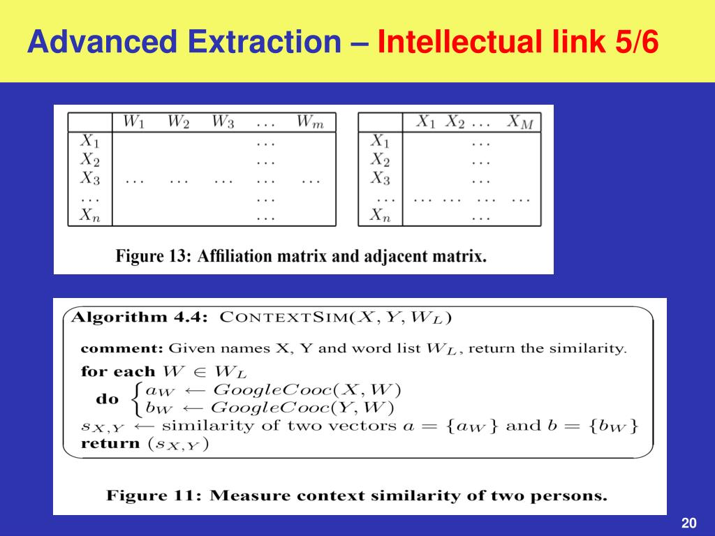 Advanced Extraction –