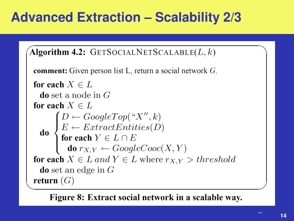 Advanced Extraction – Scalability 2/3