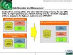 data migration and management