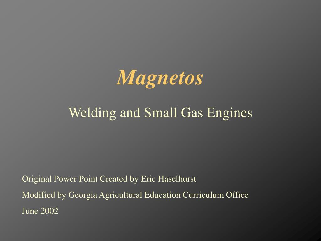 magnetos l.