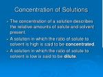 concentration of solutions14