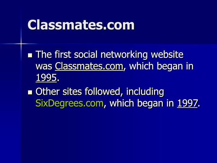 Classmates com