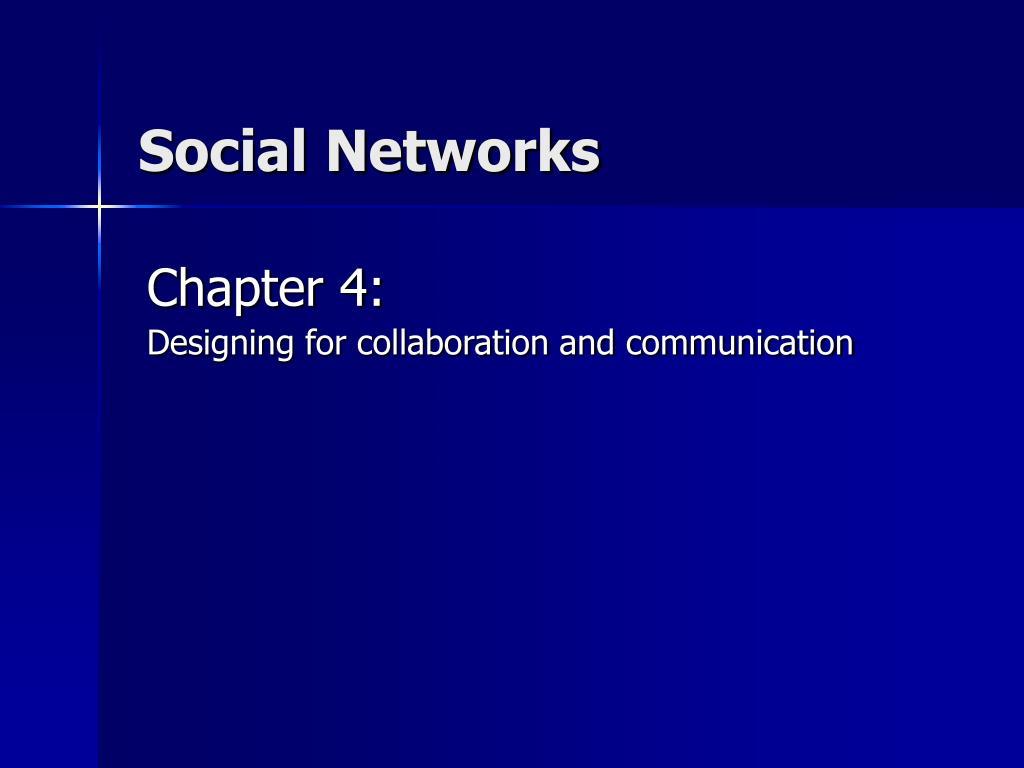 social networks l.