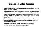 impact on latin america