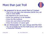more than just troll