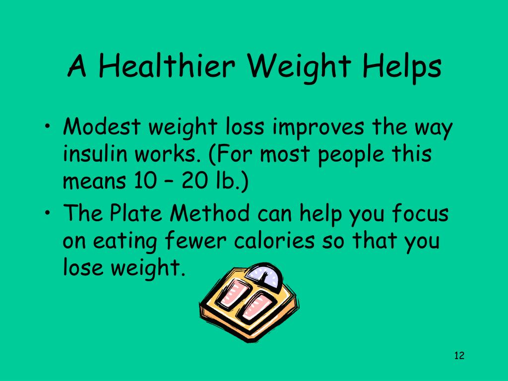 A Healthier Weight Helps