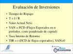 evaluaci n de inversiones14