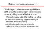 ratts om nav reformen 1