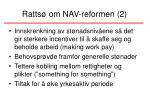 ratts om nav reformen 2