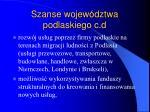 szanse wojew dztwa podlaskiego c d26
