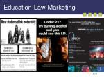 education law marketing