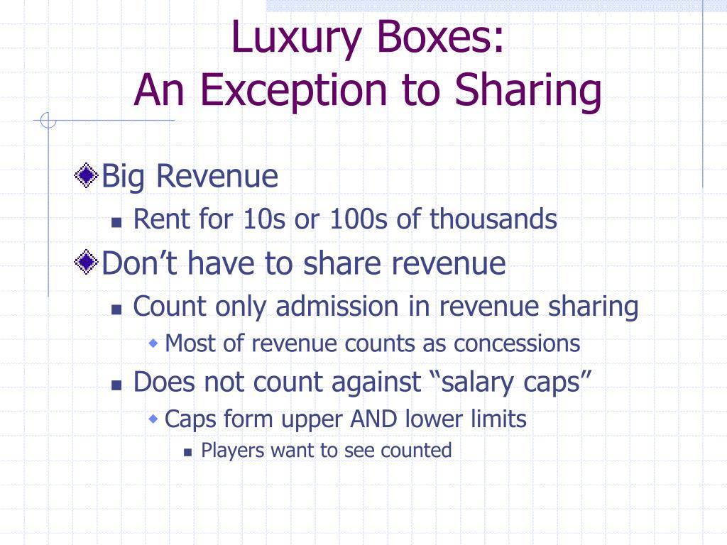 Luxury Boxes: