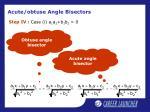 acute obtuse angle bisectors8