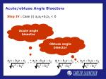 acute obtuse angle bisectors9
