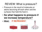 review what is pressure