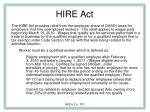 hire act