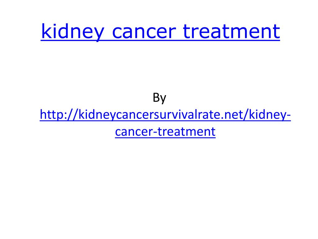 kidney cancer treatment l.