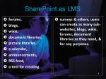 sharepoint as lms