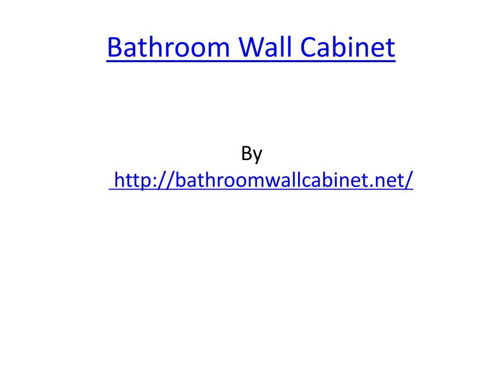 bathroom wall cabinet l.