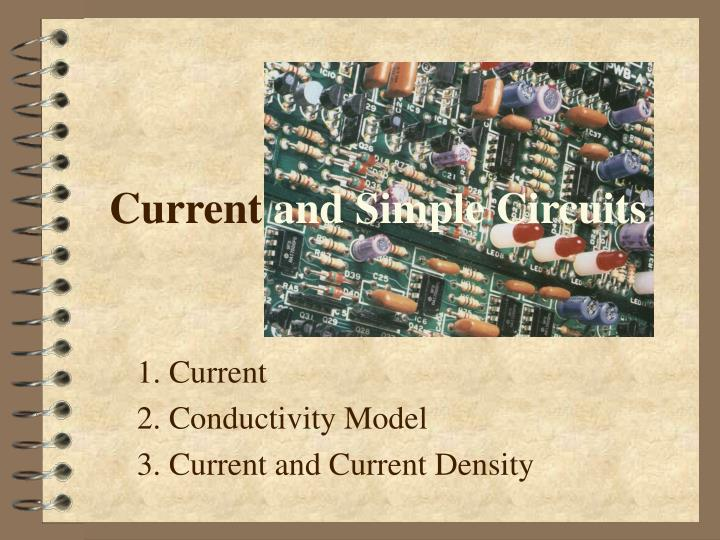 current and simple circuits n.