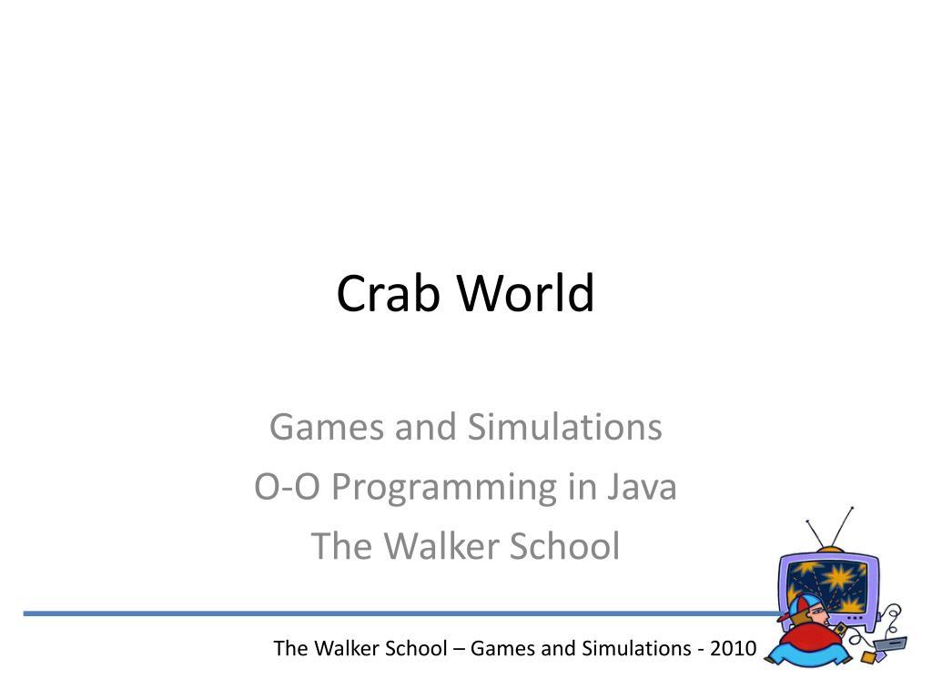 crab world l.