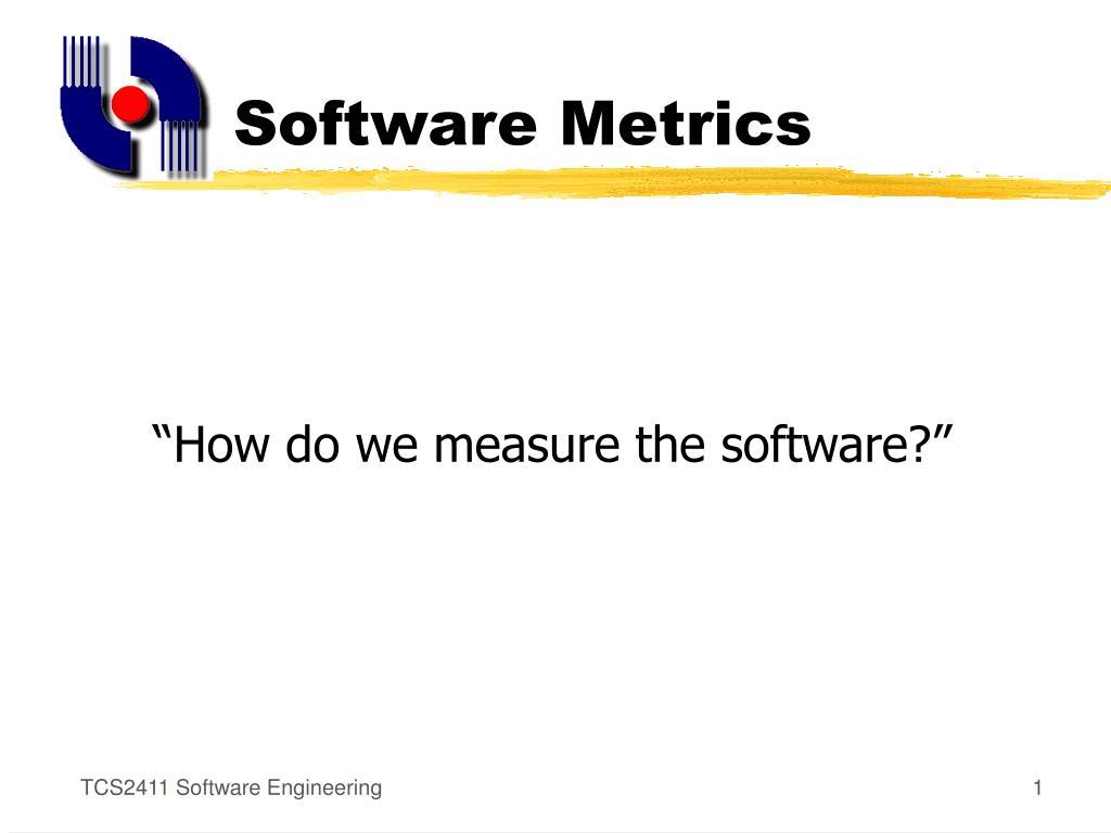 software metrics l.